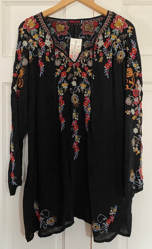 Johnny Was Autumn Bloom Tunic