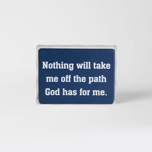 "iTalk- Biblically based affirmations to train your ""Self-Talk"""
