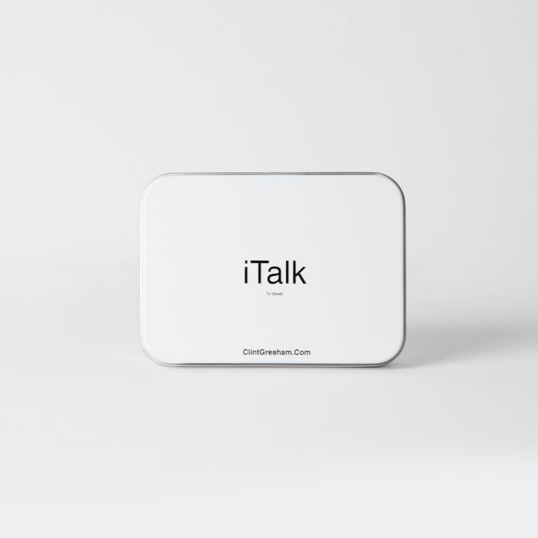 iTalk- Biblically based affirmations to train your