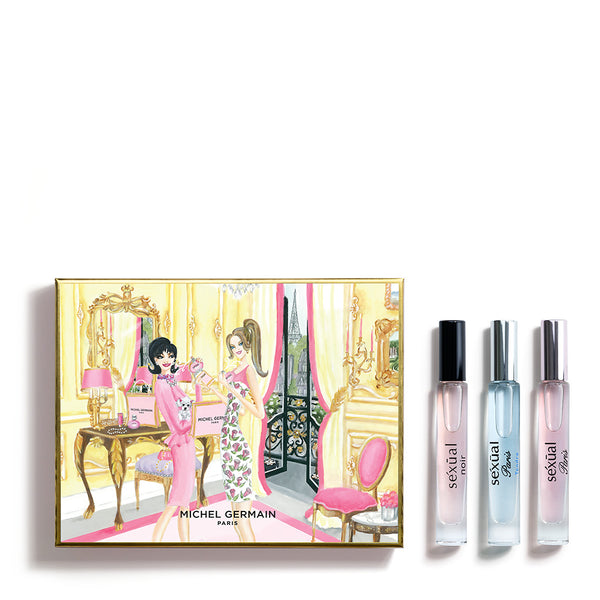 Michel Germain Paris 3-Piece Rollerball Gift Set