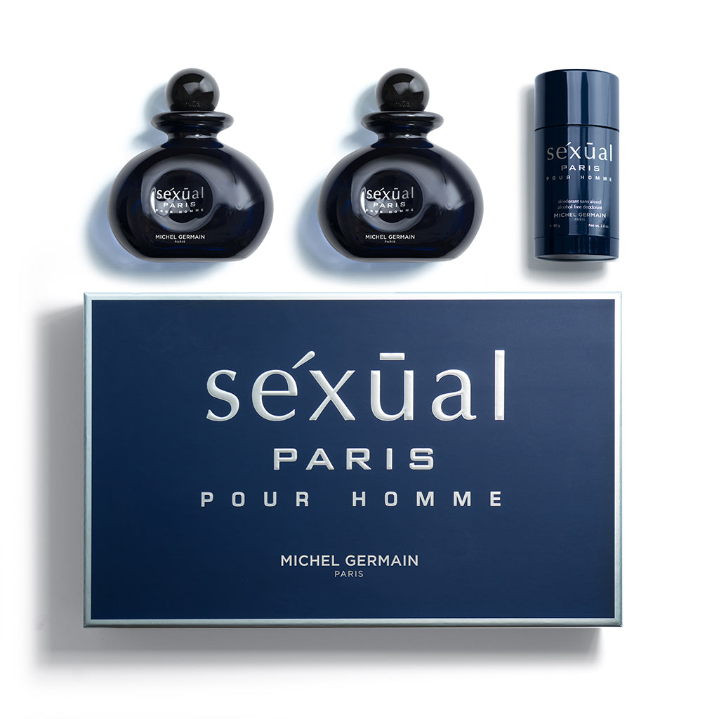 Paris Pour Homme 3-Piece Gift Set (Value $190)