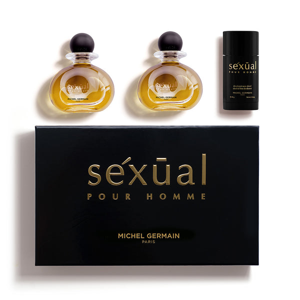Sexual Pour Homme 3-Piece Gift Set (Value $190)