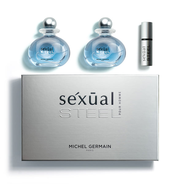 Sexual Steel Pour Homme 3-Piece Gift Set (Value $190)