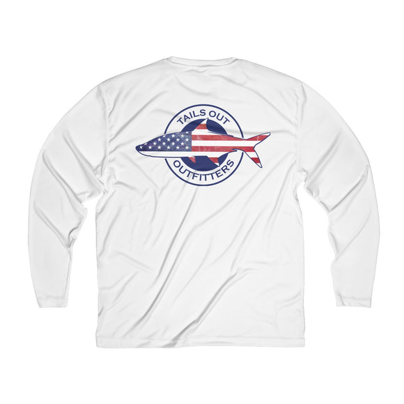Patriotic Tarpon Performance Long Sleeve