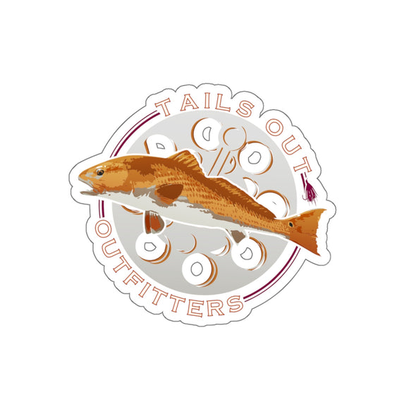 Redfish Die-Cut Sticker