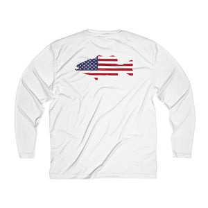 Patriotic Bass Performance Long Sleeve