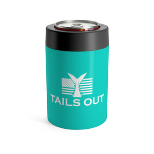 Tails Out Can Cooler