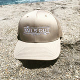 Rod & Reel Logo Trucker Cap