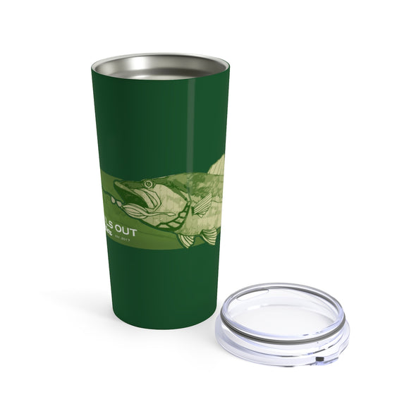 Bass Time Tumbler 20oz