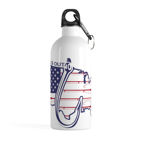 Tails Out Stainless Steel Water Bottle