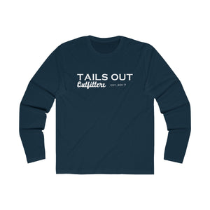 Tails Out Center Logo Long Sleeve