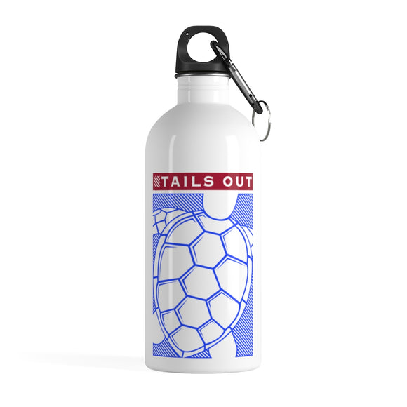 Turtle Foundation Stainless Steel Water Bottle