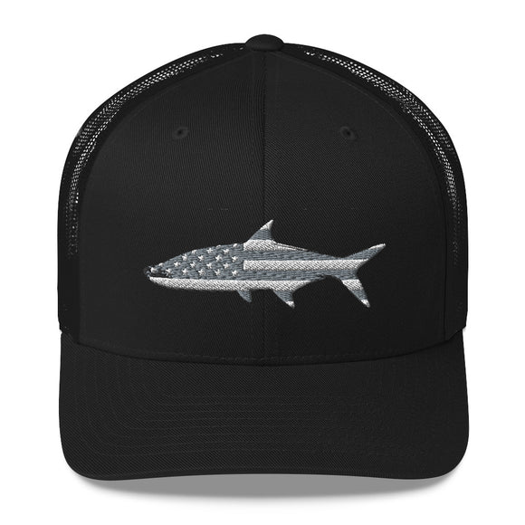 Stealth Tarpon Trucker Hat