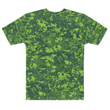 Tails Out Camouflage Casual T-Shirt