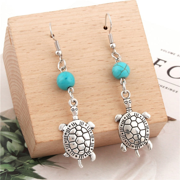 Sea Drop Turtle Earings