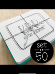 Custom Notecards - Set of 50