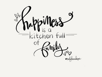 TEA TOWEL - Happiness