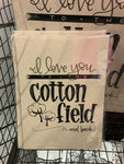 PRINT - Cotton field