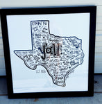 POSTER - Texas Y'all