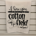 TEA TOWEL - Cotton Field