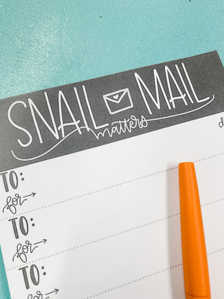 NOTEPAD - Snail Mail Matters