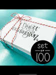 Custom Notecards - Set of 100