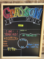 CHALKBOARD - Back to School