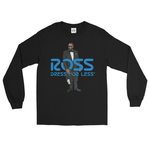 "Exotic Gourmet ""Ross"" black long sleeve tee"