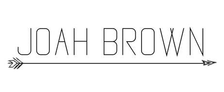 Brand Spotlight On Joah Brown