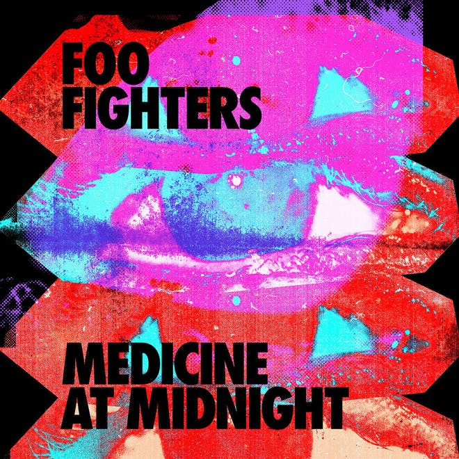 Foo Fighters - Medicine At Night (Blue Viniyl) (Columbia Records)