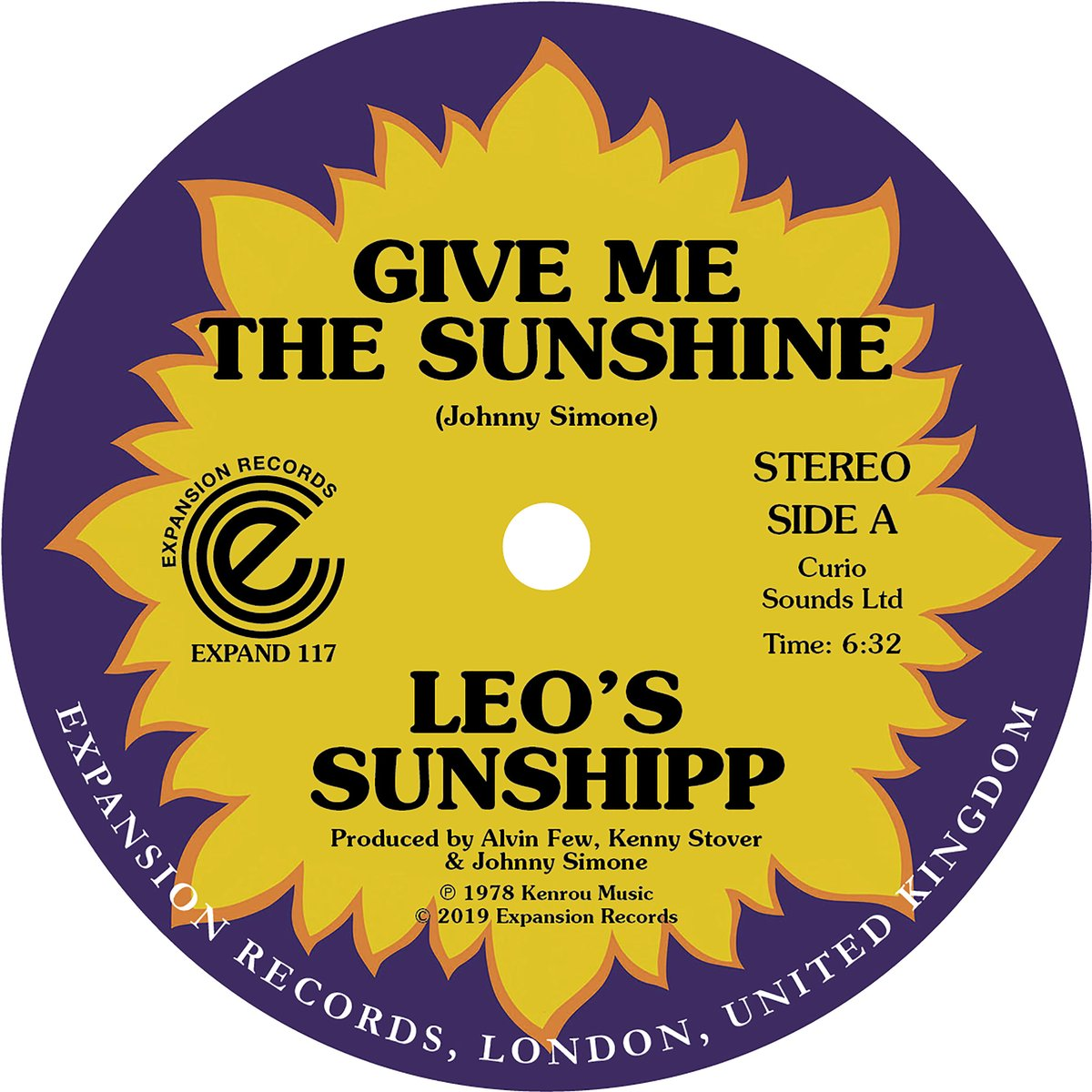 Leo's Sunshipp - Give Me The Sunshine / I'm Back For More (Expansion Records)