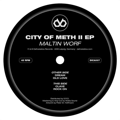 City Of Meth II EP (Defrostatica Records)