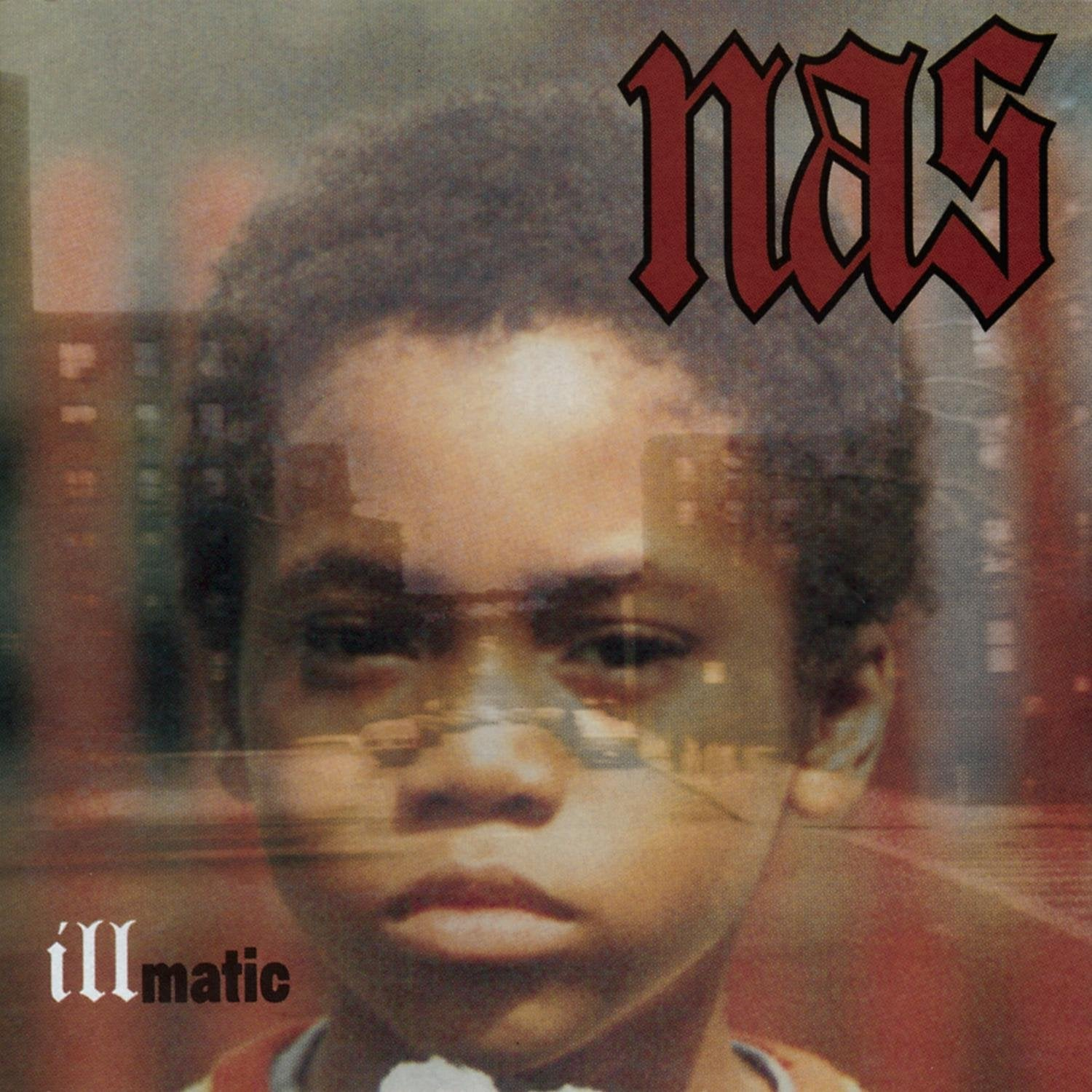 Nas - Illmatic (Clear Vinyl LP) (Columbia Records)
