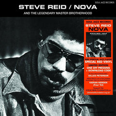 Steve Reid - Nova (Translucent Red Vinyl) (Soul Jazz Records)