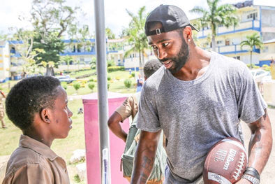 New Age Partners with Darrelle Revis Foundation