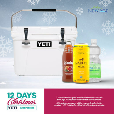 12 Days of Christmas New Age Yeti Giveaway  - Terms & Conditions