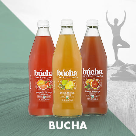 Bucha Kombucha Tea - All Flavors