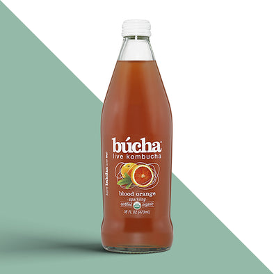 Bucha Blood Orange Kombucha Tea