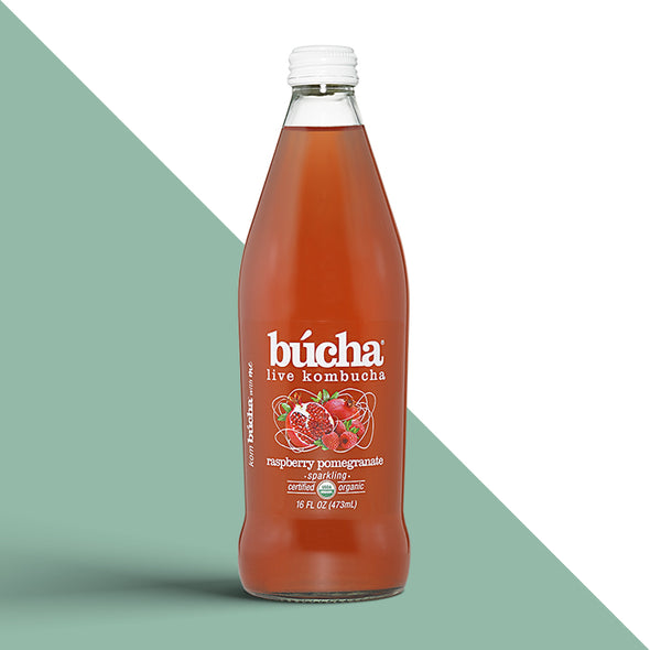 Bucha Raspberry Pomegranate Kombucha Tea