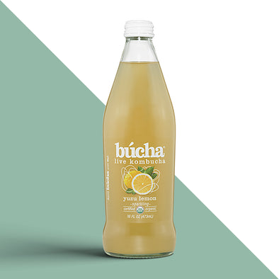 Búcha Yuzu Lemon - 12/16oz. bottles