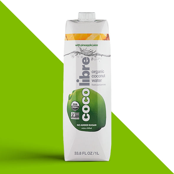 Coco Libre Pineapple Coconut Water - 1L Bottles