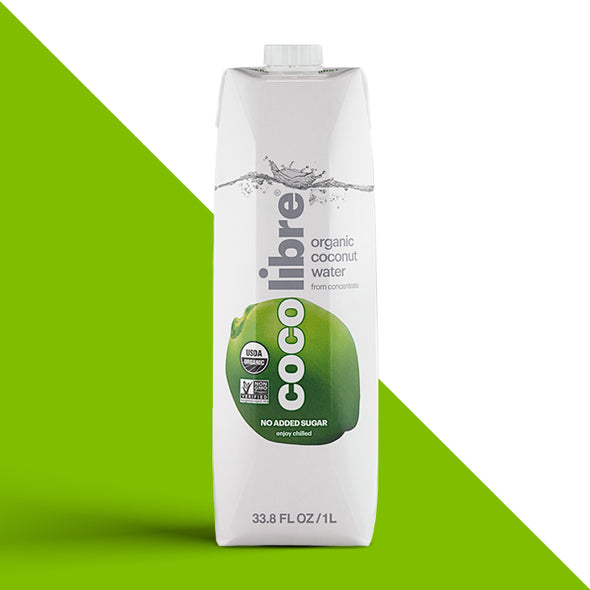 Coco Libre Coconut Water - 1L Bottles