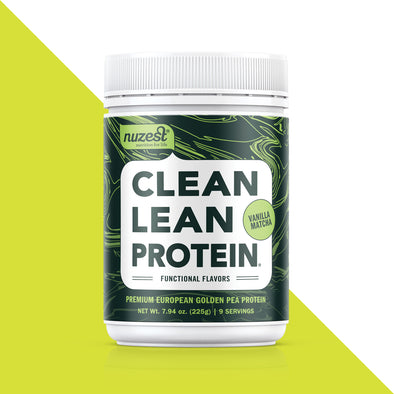 Nuzest Clean Lean Protein Functional Flavors - 7.9oz tub