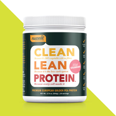 Nuzest Clean Lean Protein: 17.6 oz tub