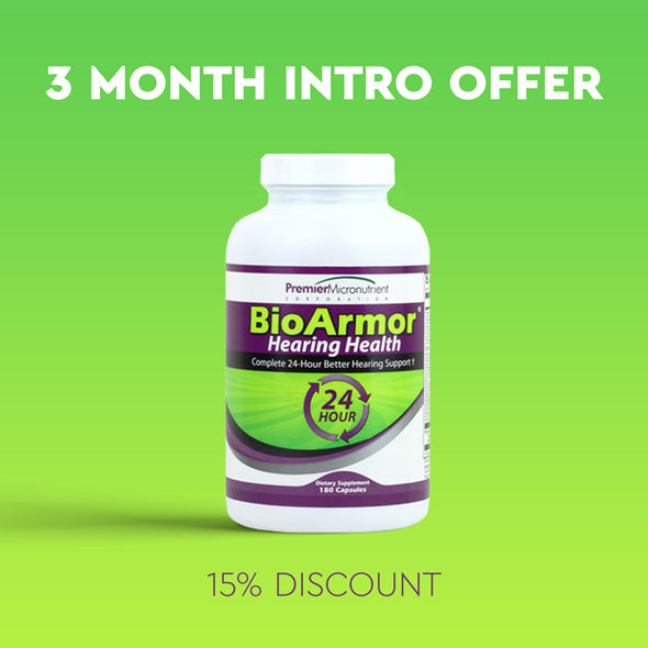 BioArmor Hearing Health - 3 Month Supply