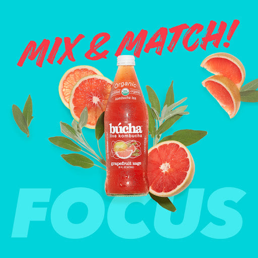Focus - 24 Drinks for just $39.99 - Mix & Match