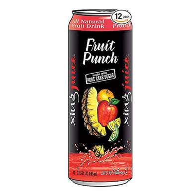 Xing Juice Fruit Punch 23.5oz. Can - 12 Pack