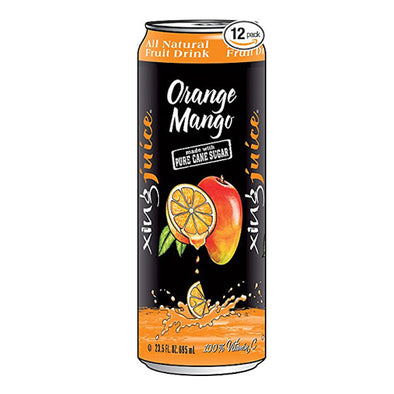 Xing Juice Orange Mango 23.5oz. Can - 12 Pack