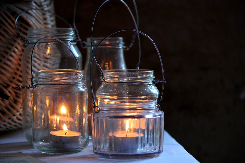 DIY Life: The Hanging Mason Jar Light