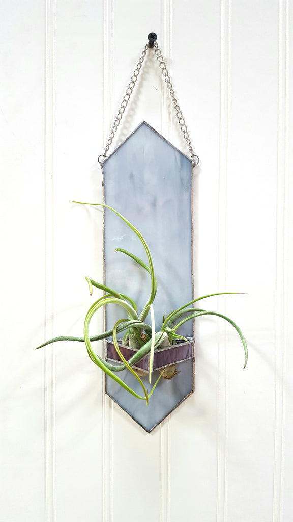 Stained Glass Air Plant Holder